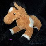 Bob der Bär Pferd / Pony    braun / weiß