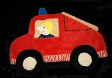 Sterntaler Schmusetuch als Feuerwehrauto / Feuerwehr
