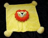 Bieco  Schmusetuch Löwe gelb Kopf mitte