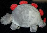 Nici Dinosaurier /  Drache rot / grau   50 cm