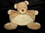 Nicotoy Schmusetuch Teddy / Bär C&A  Zick Zack