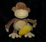 Babylove / DM  Spieluhr Affe / Donkey mit Banane