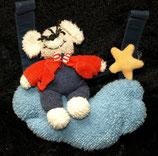 Sterntaler Maxi Cosi Spielzeug  Maus auf Wolke