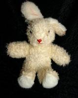 70er 80er Jahre Hase / Bunny Vintage weiß