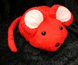 Knautschi / Puffalump  rote Maus