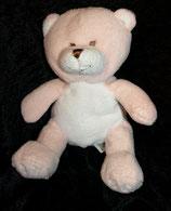 Babies R us Toys R us Bär Teddy rosa / weiß
