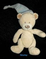 Nicotoy / Simba Teddybär mit Zipfelmütze