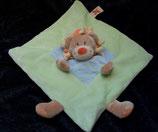 Nicotoy / Baby Club Schmusetuch Löwe grün