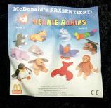 Ty Teenie Beanie Babies Mc Donalds 1993
