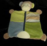 Topomini  Schmusetuch Affe  mit Beißecke