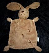 Nicotoy / Baby Club Schmusetuch Hase mit Tatzen