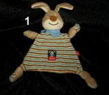 SIGIKID Semmel Hase / Bunny  Schmusetuch