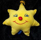 Sterntaler Spieluhr als Stern mit Knubbelnase