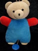 Sterntaler Spieluhr als Teddy / Bär blau Nicki
