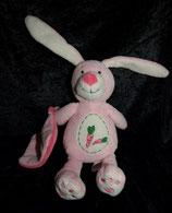 KIK / Okay Hase  mit Schmusetuch rosa Möhrchen / Schmuser