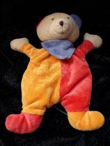 Paradise Toys Schmusetuch Bär / Teddy rot / orange