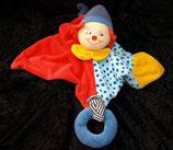 Sterntaler Schmusetuch Clown BEPPO groß