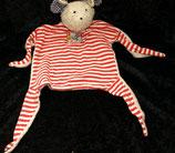 Sigikid Schmusetuch First Friends  Maus rot /weiß 45590
