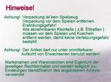 my first NICI Schmusetuchtier / Schnullerhase / Hase