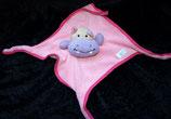 SIMBA Schmusetuch Hippo / Nilpferd rosa