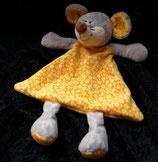 KIK / C.A.T Schmusetuch Maus orange Punkte