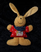 SIGIKID Greifling Hase Klecks rot mit Halstuch