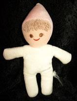 Sterntaler Puppe /  Wichtel / Däumling / Vintage weiß / rosa