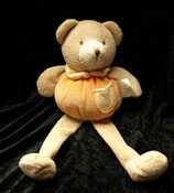 Dicker Teddy / Bär lange Beine orange