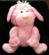 Fisher Price Puffalump Knautschi Hund rosa