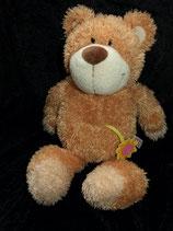 NICI Honigbär / Bär / Teddy mit Blume