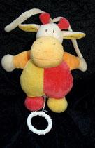Topolino Spieluhr Giraffe / Kuh / Kälbchen? 1998