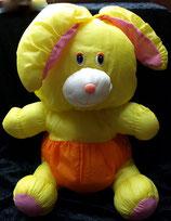 Knautschi / Puffalump  Hase gelb Orange