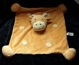 Bieco  Schmusetuch Giraffe / Kuh