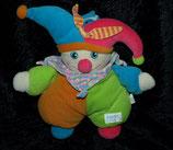 SIMBA  Puppe Harlekin / Narr / Clown  Halstuch kariert