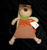 SIGIKID Schmusetuch  Bär aus der Organic Collection NEU