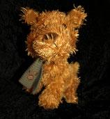 Sparkasse /  LZO Hund mit Schal wie NEU