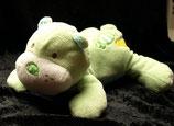 KIK Hund / Bär / Teddy grün Bonbons liegend