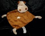 NL Evora Schmusetuch Hippo / Nilpferd