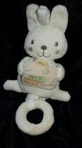 Nicotoy / Baby Club Spieluhr Hase mit Koffer