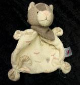 """Baby Club / Fehn Schmusetuch Katze beige """" miau """""""