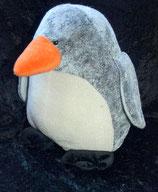Volksbank / Bank dicker Pinguin