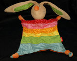 SIGIKID Schmusetuch Hase Rainbow