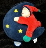 Sterntaler Spieluhr  Sandmann / Sandmännchen auf Mond