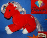 HEUNEC sehr altes Pony rot VINTAGE