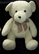 Kuschelwuschel / Karstadt Teddybär creme 47  cm