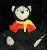 Sterntaler Katze schwarz gelb rot XXL