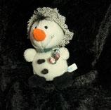 NICI  kleiner Schneemann mit Hut 11 cm