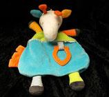 Topomini  Schmusetuch Giraffe mit Beißring