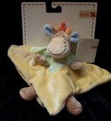 Nicotoy / Baby Club Schmusetuch Giraffe Kuh Pferd NEU