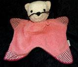 Sterntaler Schmusetuch  Katze pink / rosa Babyplüsch
